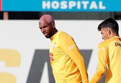 Galatasarayda Babel takımla çalıştı