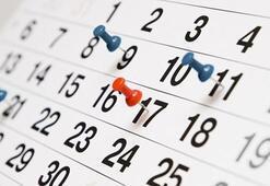 Yeni yılda 23 Nisan, 1 Mayıs, 19 Mayıs, 15 Temmuz, 30 Ağustos, 29 Ekim hangi günler İşte 2020 Resmi tatiller