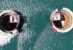 Tarihi Çanakkale Köprüsü yükseliyor 100metreye ulaştı...