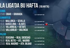 La Liga 18. haftada 8 maç naklen D-Smart ve D-Smart Go'da