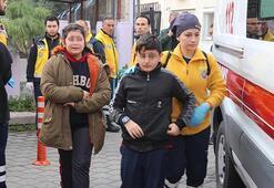 Denizli'de 11 öğrenci hastaneye kaldırıldı