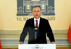 Son dakika... İstanbul Valisi canlı yayında açıkladı 3 ay süreyle durduruldu