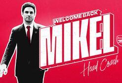 Arsenalin yeni teknik direktörü Mikel Arteta