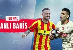 Göztepe-Galatasaray maçı canlı bahisle Misli.comda