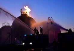 Suriyede petrol ve doğal gaz tesislerine drone saldırısı