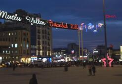 İstanbulun göbeğinde hazırlıklar tamam