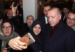 Cumhurbaşkanı Erdoğana sevgi seli Şaşkınlıklarını gizleyemediler