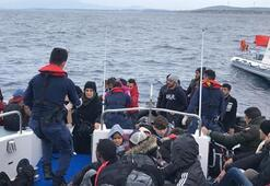 İzmirde 49 düzensiz göçmen yakalandı