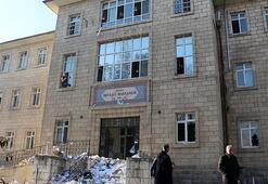 Fuhuş yapıldığı iddia edilen eski hastane binası temizlendi