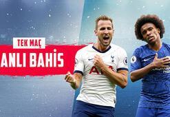 Tottenham-Chelsea derbisi canlı bahis heyecanı Misli.comda