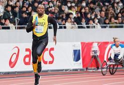Usain Bolt iki yıl sonra pistlere döndü