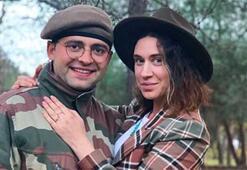 Gözde Çığacıya asker sevgilisinden evlilik teklifi