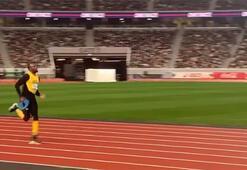 Usain Bolt pistlere döndü böyle paylaştı