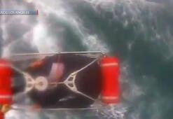 Köpek balığı saldırısına uğrayan adam böyle kurtarıldı