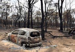 180 ev yandı, bir kişi hayatını kaybetti