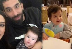 Arda Turan ve oğlu Hamza Ardanın keyifli anları