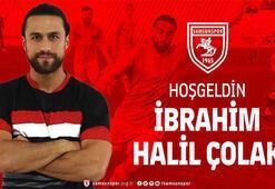 Yılport Samsunspor, Halil İbrahim Çolakı transfer etti