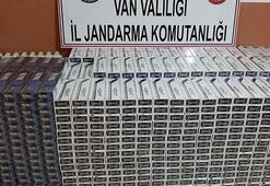 Muradiye 11 bin 780 paket kaçak sigara ele geçirildi