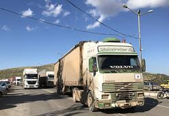 BMden İdlibe 42 TIRlık insani yardım