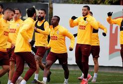 Galatasaraya Seri müjdesi Takımla çalıştı