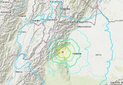 Son dakika | Kolombiyada 6,2 büyüklüğünde deprem