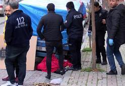 Sokakta erkek cesedi bulundu