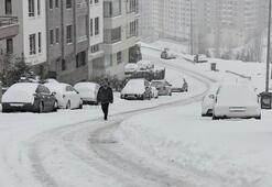 Ankara ve İstanbula kar geliyor İşte o tarihler - İl il hava durumu