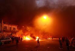 Irakta Şii parti büroları ateşe verildi