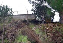 Okulun bahçe duvarı çöktü Tedirginlik devam ediyor