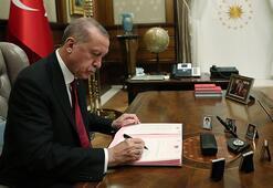 Cumhurbaşkanı Erdoğandan kritik imza İşte görevden alınan 3 isim