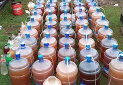 Ormandaki şarap imalathanesine baskın