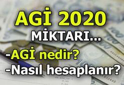 AGİ ne kadar oldu 2020   AGİ 2020 açıklandı