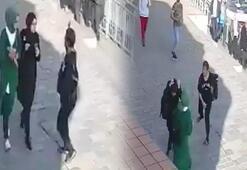 Karaköyde başörtülü öğrencilere çirkin saldırıda flaş gelişme