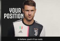 Juventustan Ramseyin doğum günü için dikkat çeken video