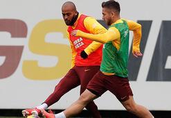 Galatasarayda Şener, Lemina ve Marcao takımla çalıştı