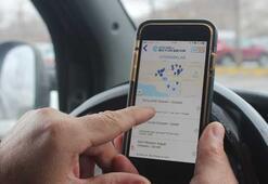 Sürücüler boş otoparkları bu uygulama ile buluyor