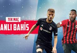 Beşiktaş - Gençlerbirliği maçı canlı bahis heyecanı Misli.comda