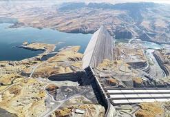 Ilısu Barajında su seviyesi yükseliyor