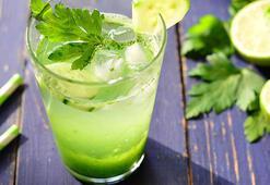 Yılbaşı sonrası ödem attıran maydanoz ve yeşil çay kürü
