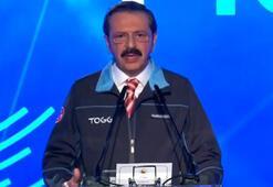 Hisarcıklıoğlu yerli otomobil tanıtımında konuştu: Bizim için de fırsat penceresi
