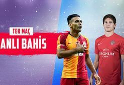 Galatasaray – Antalyaspor maçı canlı bahisle Misli.comda