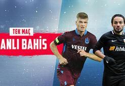 Trabzonspor – Kayserispor maçı canlı bahisle Misli.comda