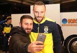 Fenerbahçe kafilesi Rizeye geldi Muriçe büyük ilgi...