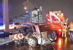 Sabaha karşı İstanbul Bariyerlere ok gibi saplandı
