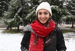 İstanbul'un yanı başı beyaza büründü