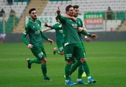 Bursasporda galibiyet sevinci yaşanıyor