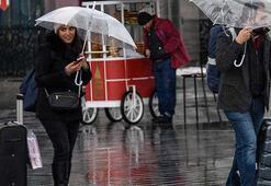 Meteoroloji İstanbul için saat verip uyardı Geliyor...