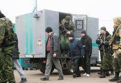 Ukraynada esir takası başladı
