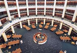 Külliye Kütüphanesi açılışında sona doğru
