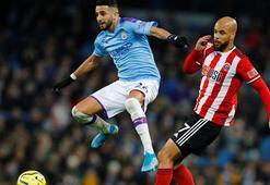 Manchester City, Sheffield Unitedı 2-0 yendi Guardiola rekor kırdı